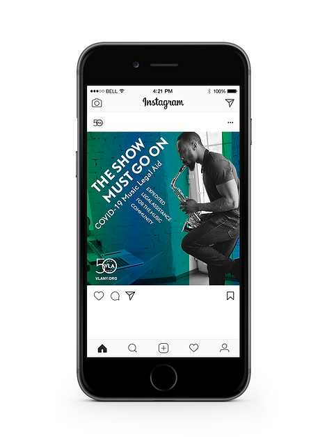 COVID Music Initiative Instagram