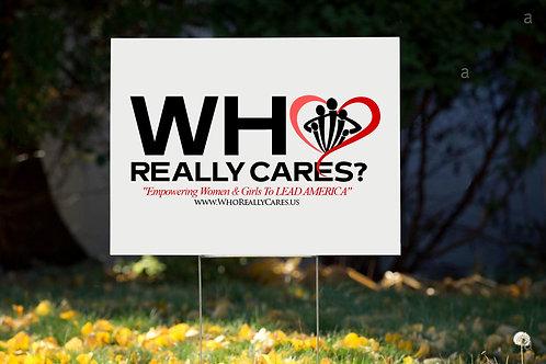 WRC Yard Sign