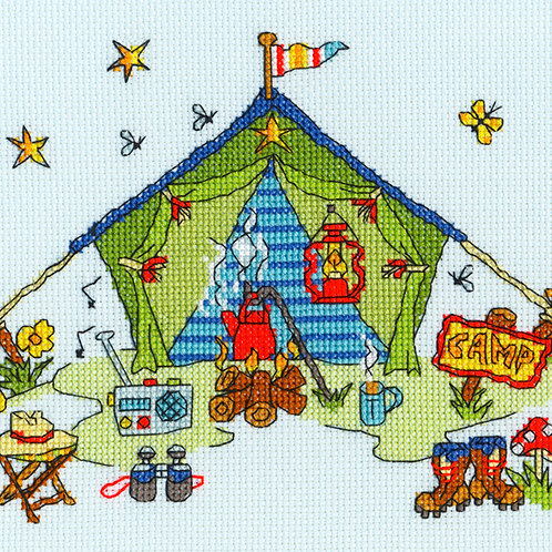 Bothy Threads Sew Dinky camping Tent