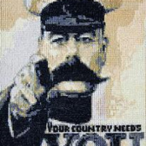Your Country Needs You cross stitch chart
