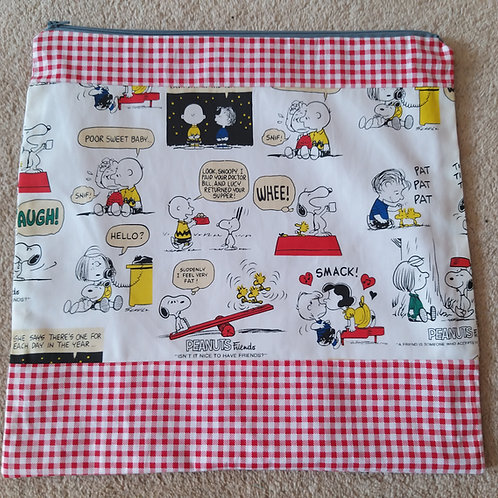 Snoopy XL project bag
