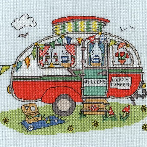 BothyThreads Sew Dinky Caravan