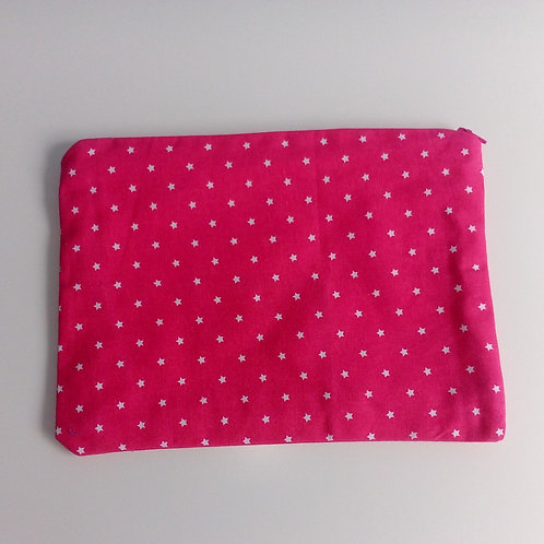 Project bag Large Pink Stars
