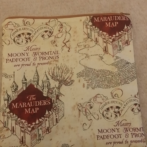 Harry Potter project bag (Marauders Map)