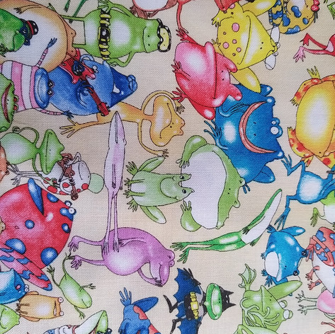 Funky frogs white fabric.jpg