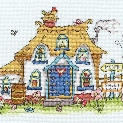 Bothy Threads Sew Dinky Cottage