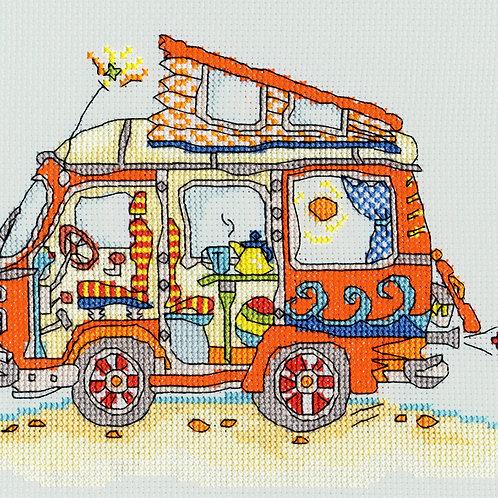 Bothy Threads Sew Dinky Camper van