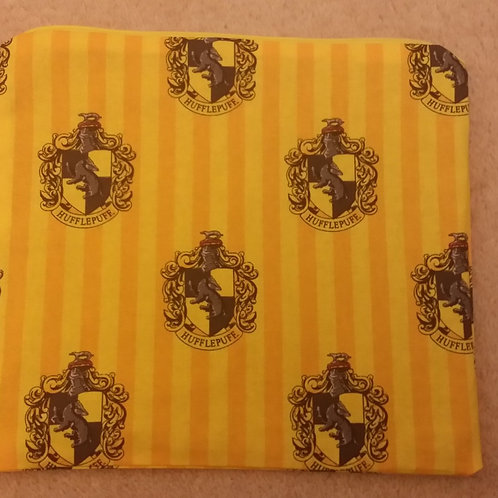 Harry Potter Hufflepuff project bag