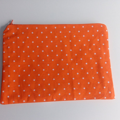 Project bag Large Orange Stars