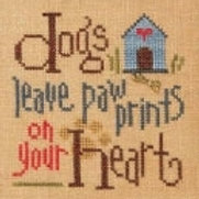LKQ3 Lizzie Kate, Dogs Leave Paw Prints-Quick It