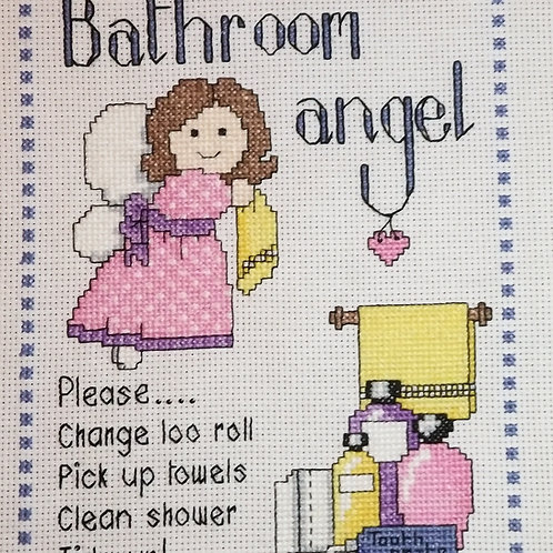 #26 Bathroom Angel