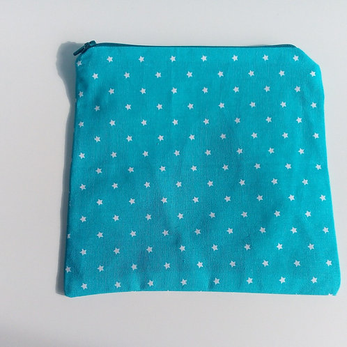 Project bag Small Blue Stars