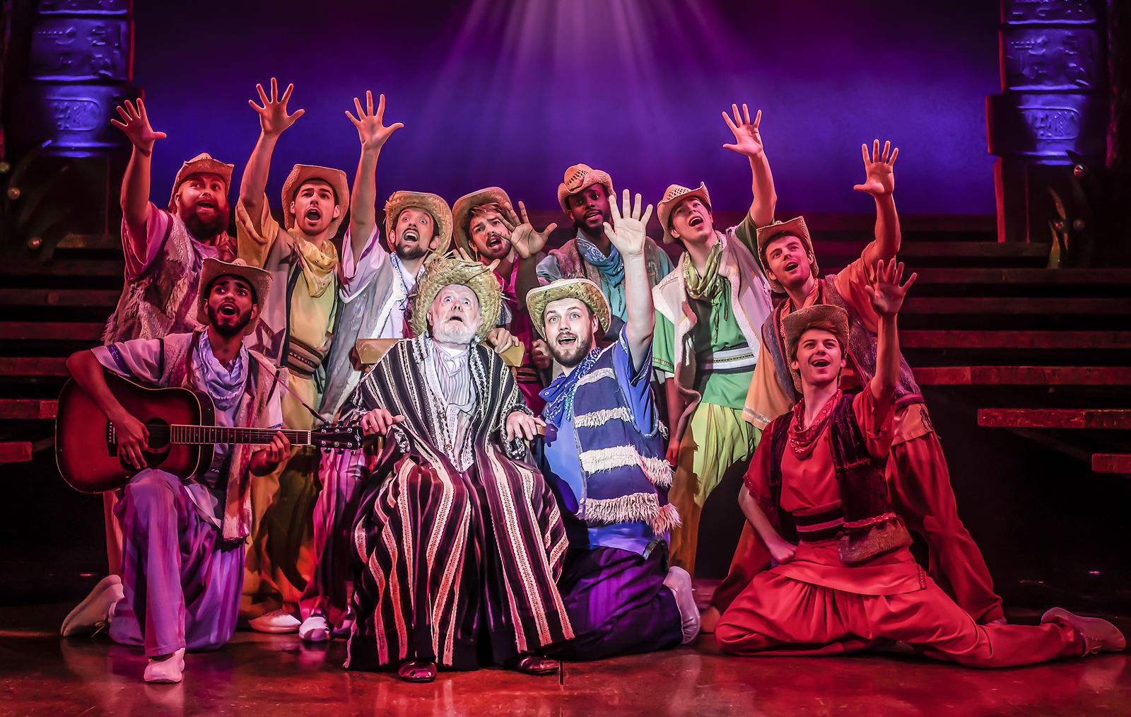 The Cast of Joseph and the Amazing Techn