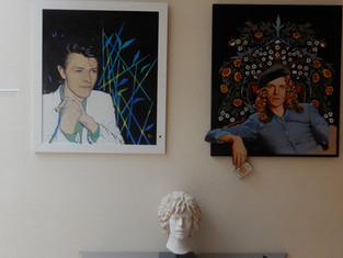 #ArtsLab50 Bowie Exhibition