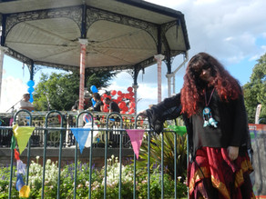 Save The Bandstand – The Bowie Festival at Beckenham. 2017.