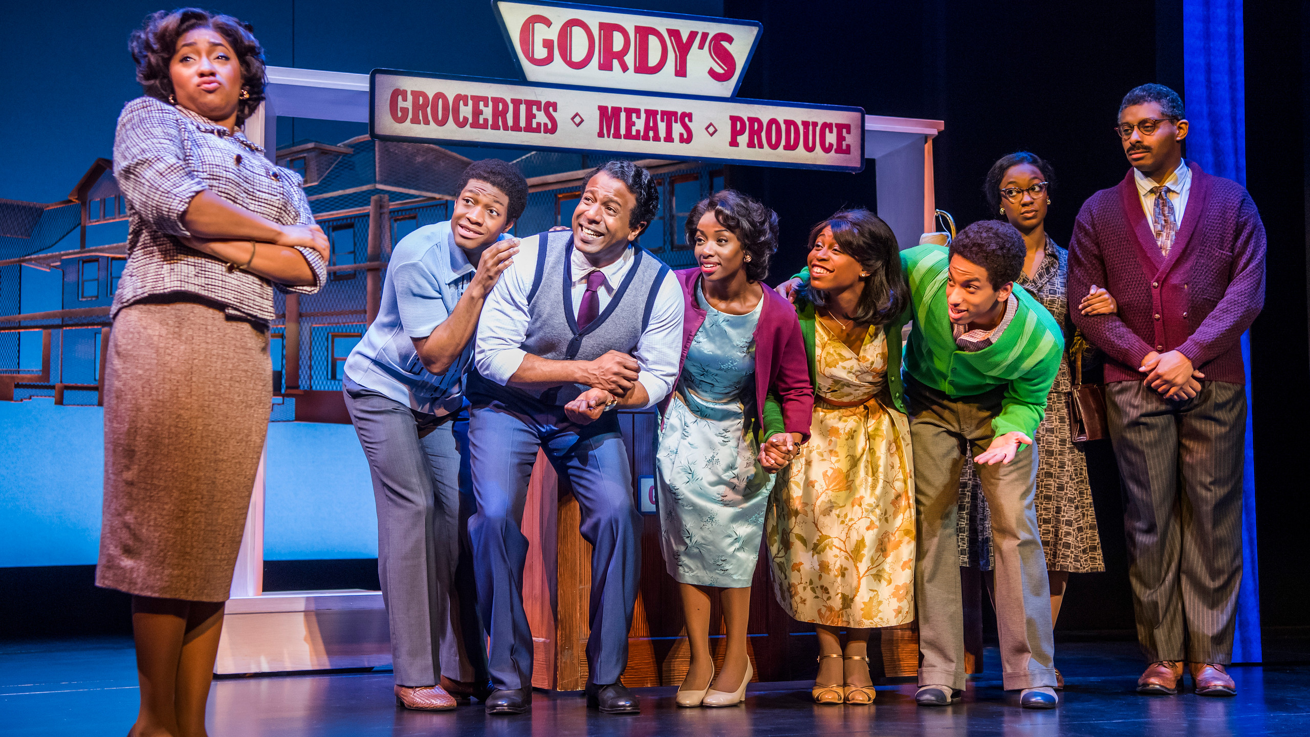 14. MOTOWN THE MUSICAL. The Company