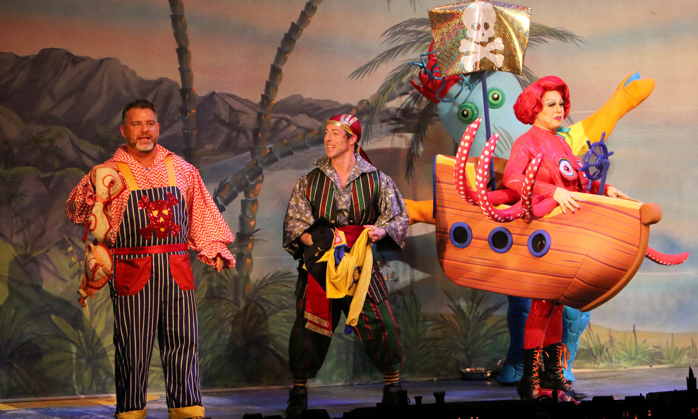Smee, Pirate and Mrs Smee 12 Days of Chr