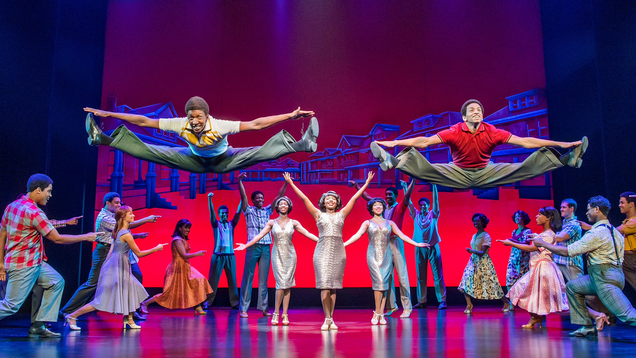 10. MOTOWN THE MUSICAL. The Company