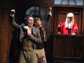 Trial By Laughter. Milton Keynes Theatre