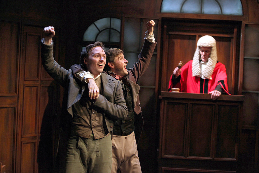 Trial By Laughter at The Watermill