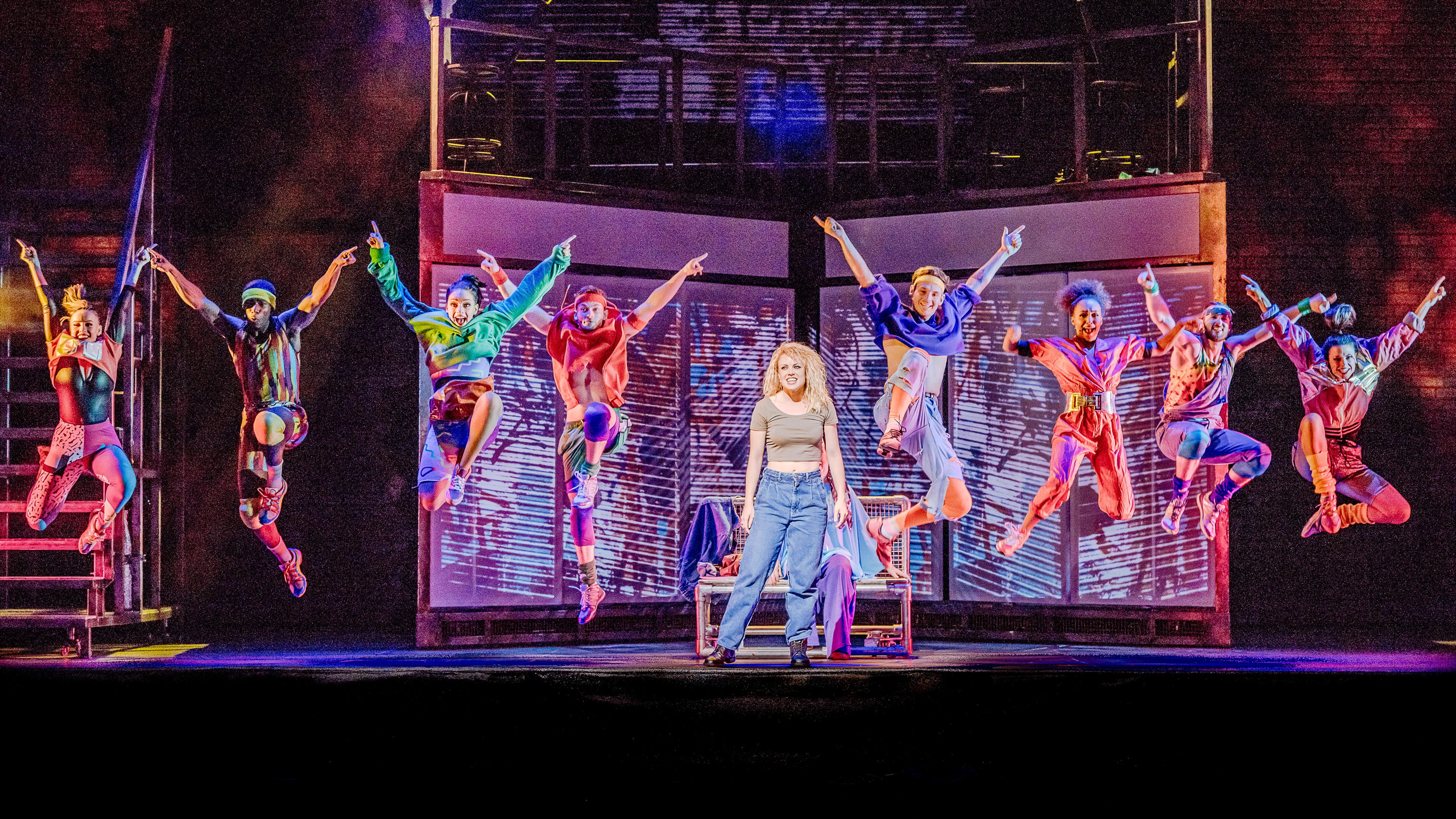 Flashdance Company  - Credit Brian Hartley (2)