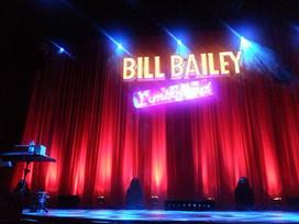 Bill Bailey is a genius. 19 June 2016. Milton Keynes Theatre