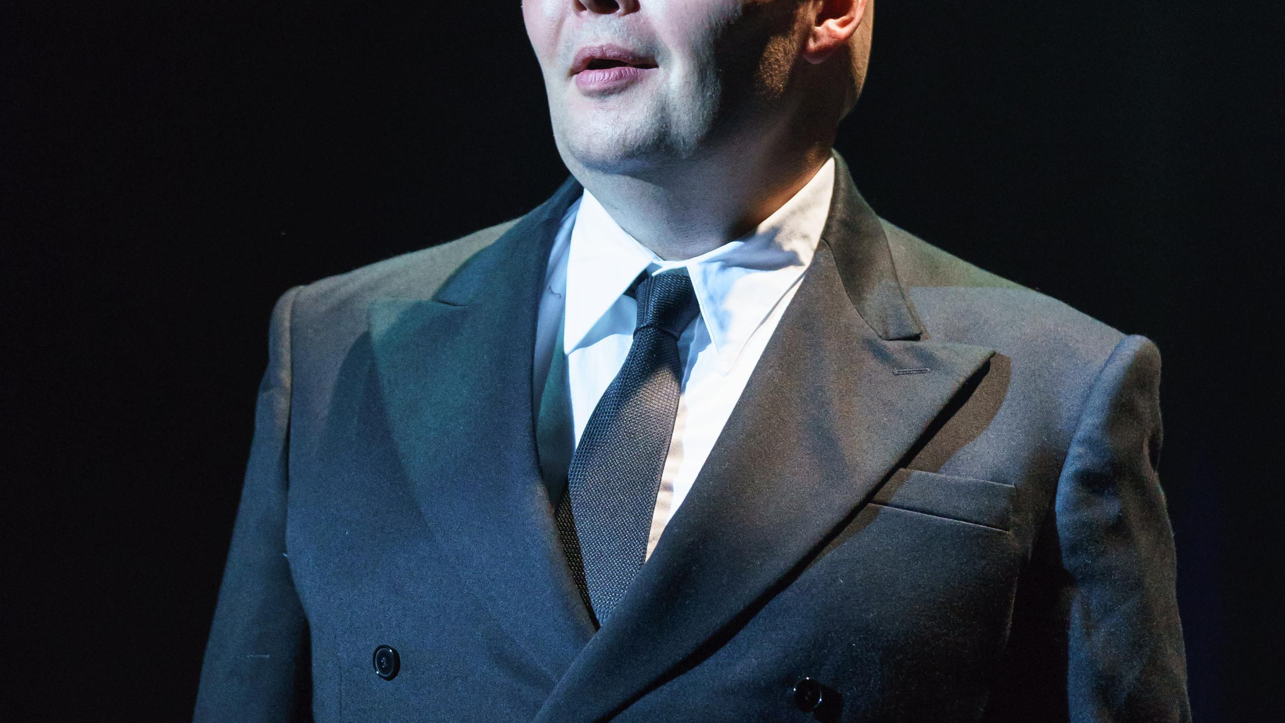 SUNSET BOULEVARD. Adam Pearce 'Max Von Meyerling'. Photo Manuel Harlan