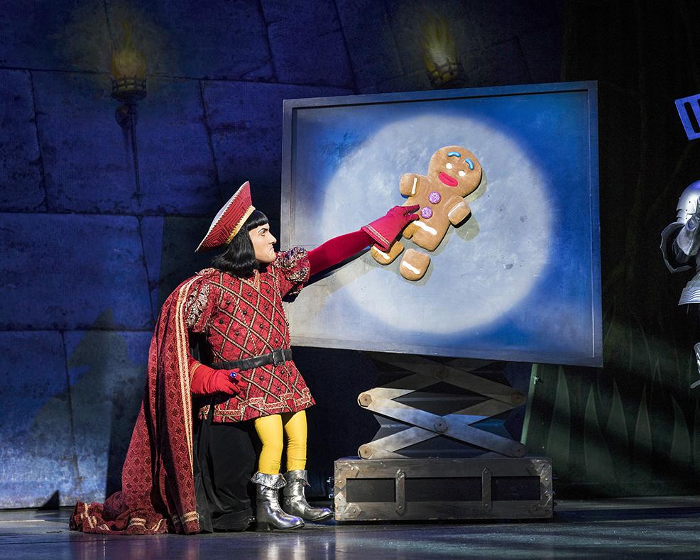 Samuel Holmes as Lord Farquaad