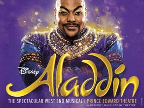 Aladdin. Prince Edward Theatre. London.
