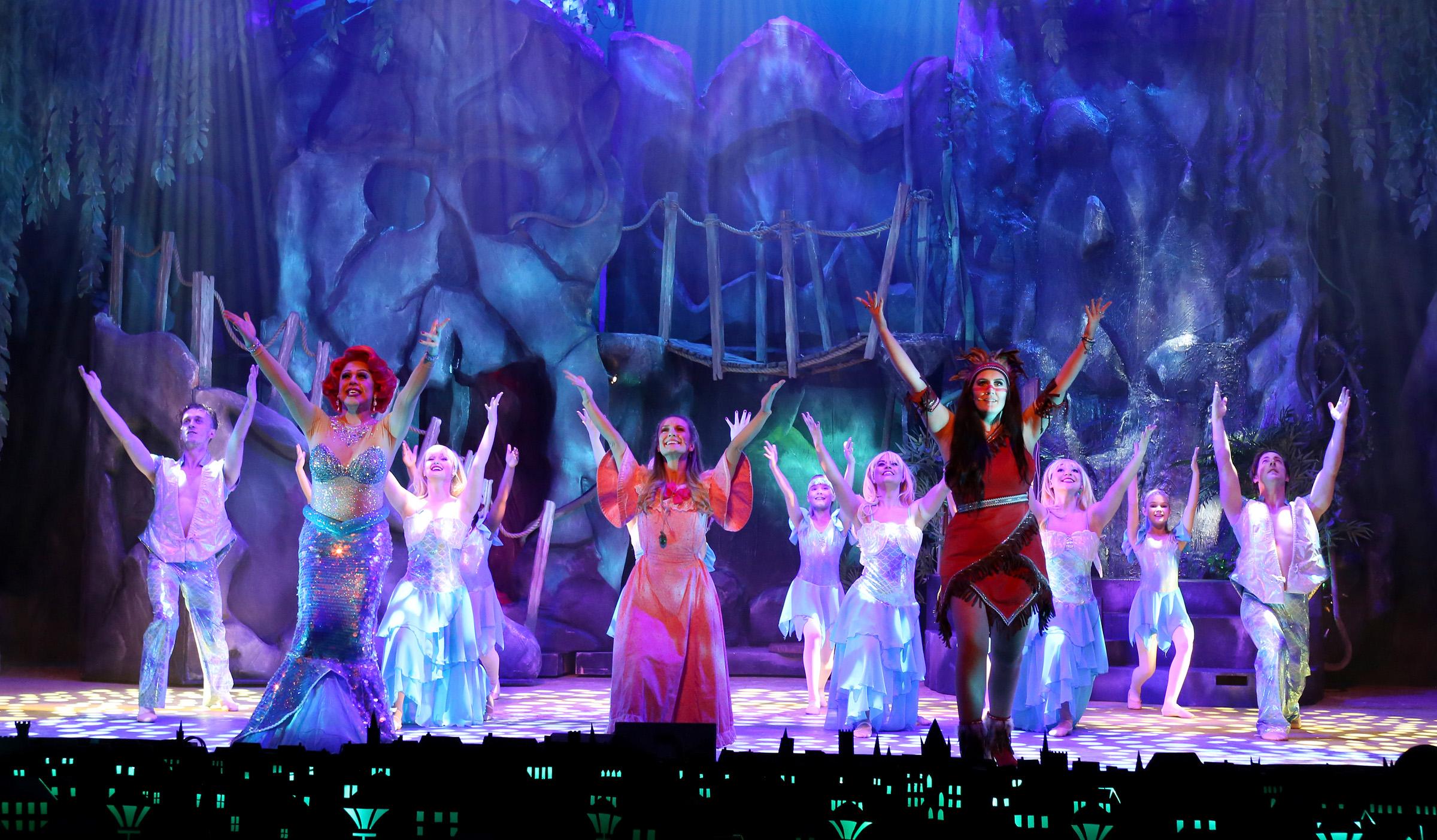 Full mermaid ensemble