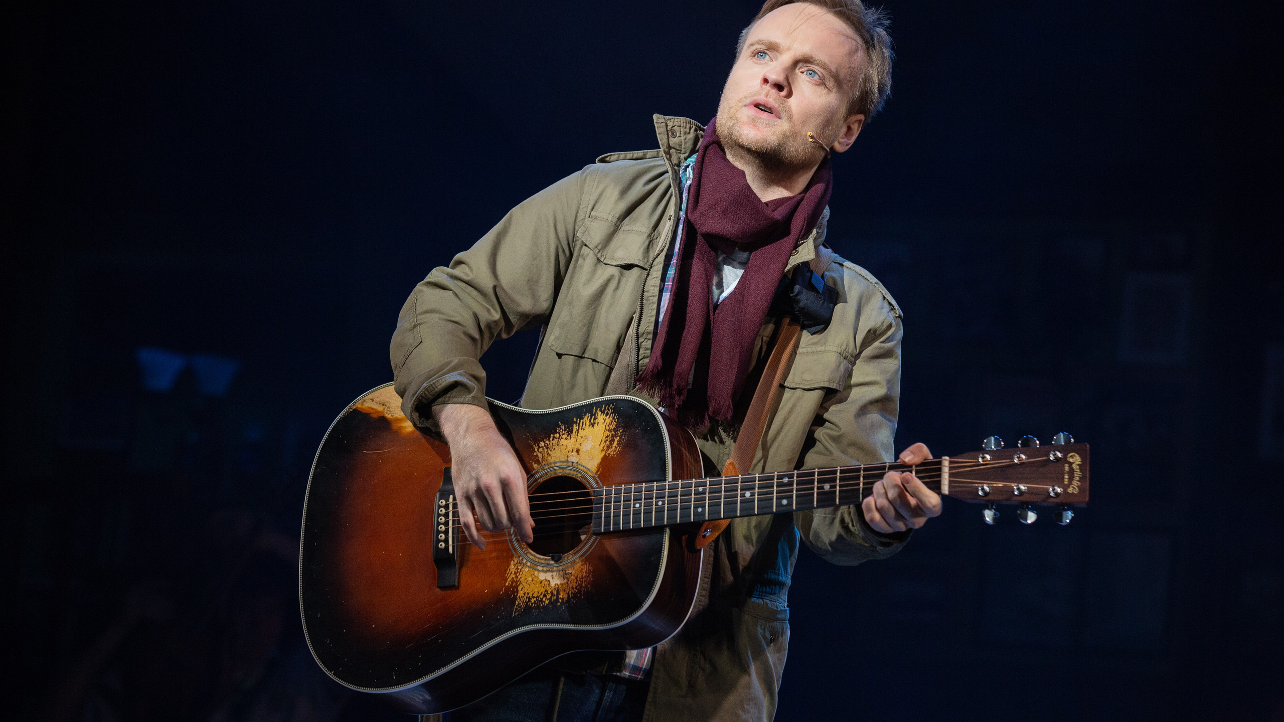 Daniel Healy as Guy - Once UK Tour - Pho