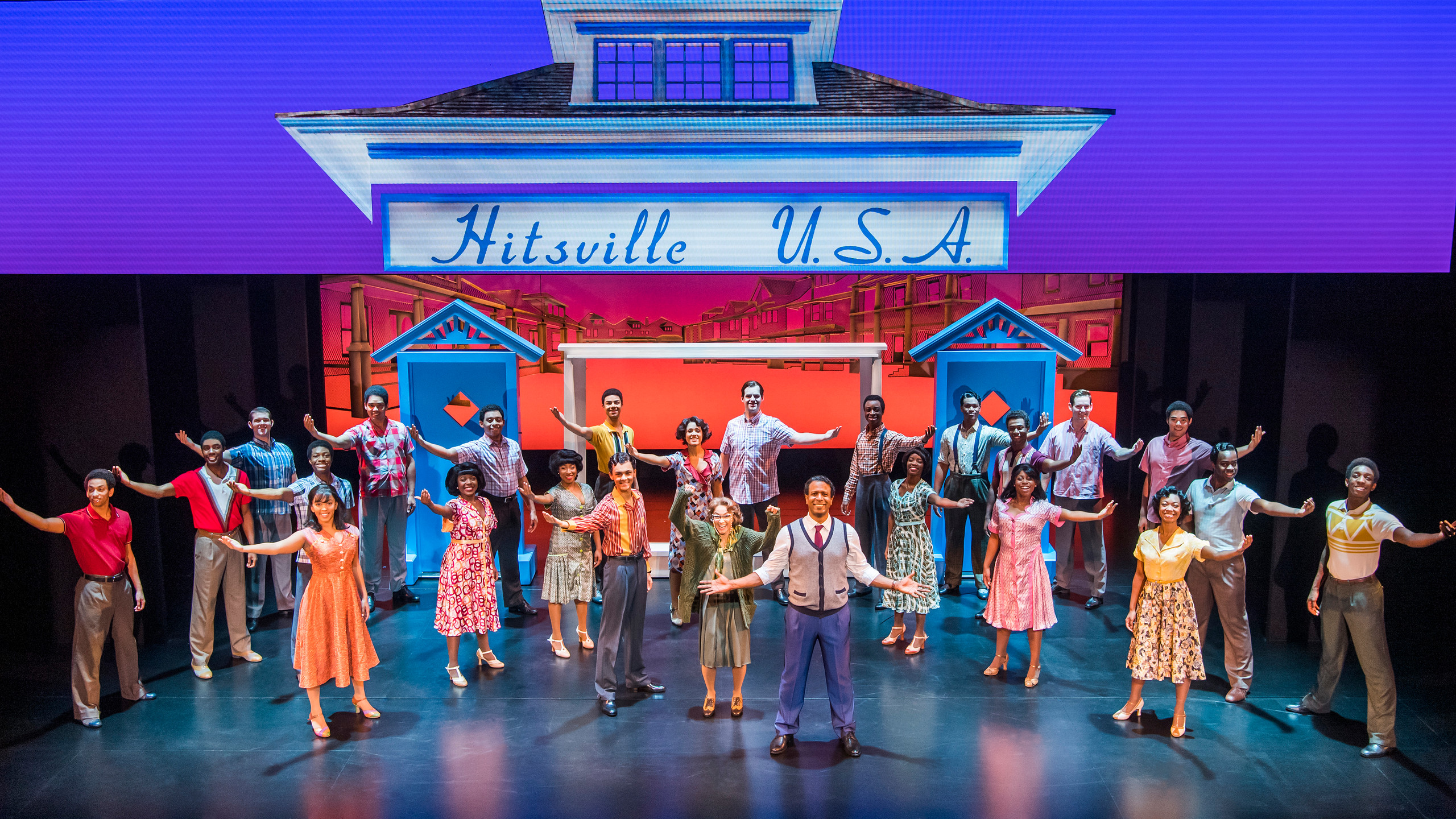 9. MOTOWN THE MUSICAL. The Company