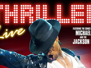 Thriller Live. Waterside Theatre, Aylesbury