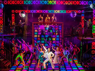 Saturday Night Fever. Milton Keynes Theatre.