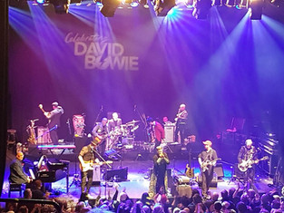 Celebrating David Bowie. Shepherd's Bush. 12 January 2018