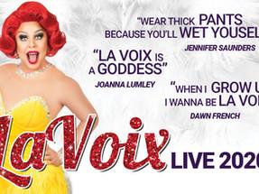 La Voix is the UK's funniest Redhead!