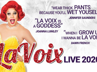 La Voix is the UK's funniest Redhead!