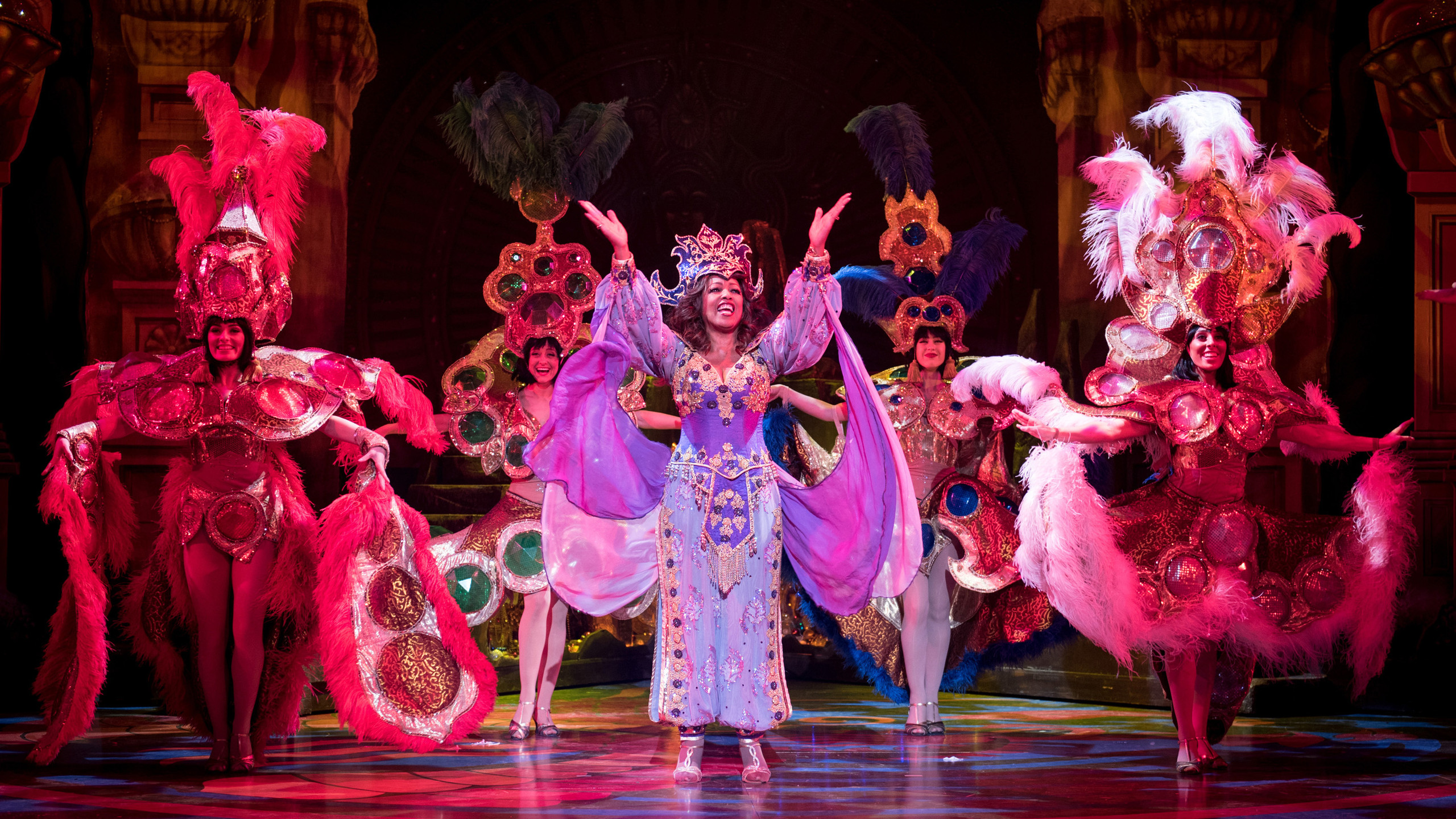 Aladdin - Sheila Ferguson and company - photo by Graeme Braidwood