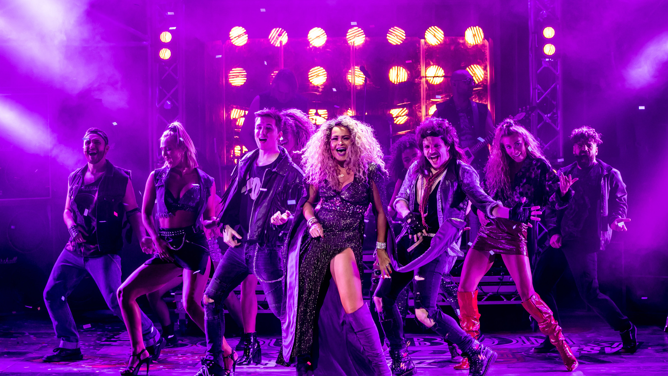 Rock of Ages UK Tour cast - credit Richa