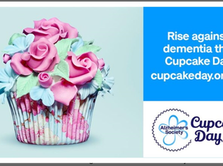 Celebrities whip up support for Alzheimer's Society's Cupcake Day