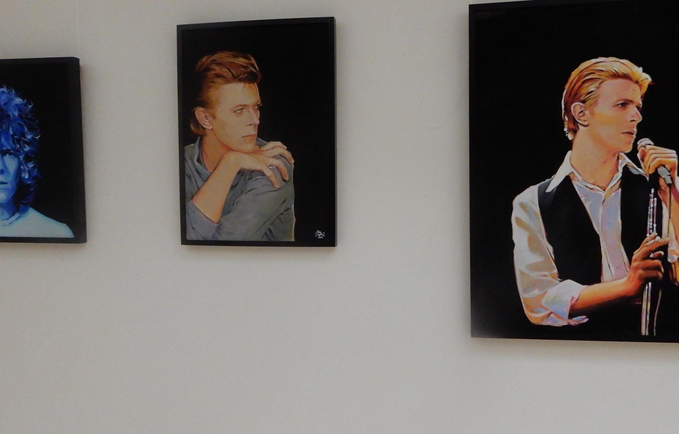 David Bowie art by Sara Captain