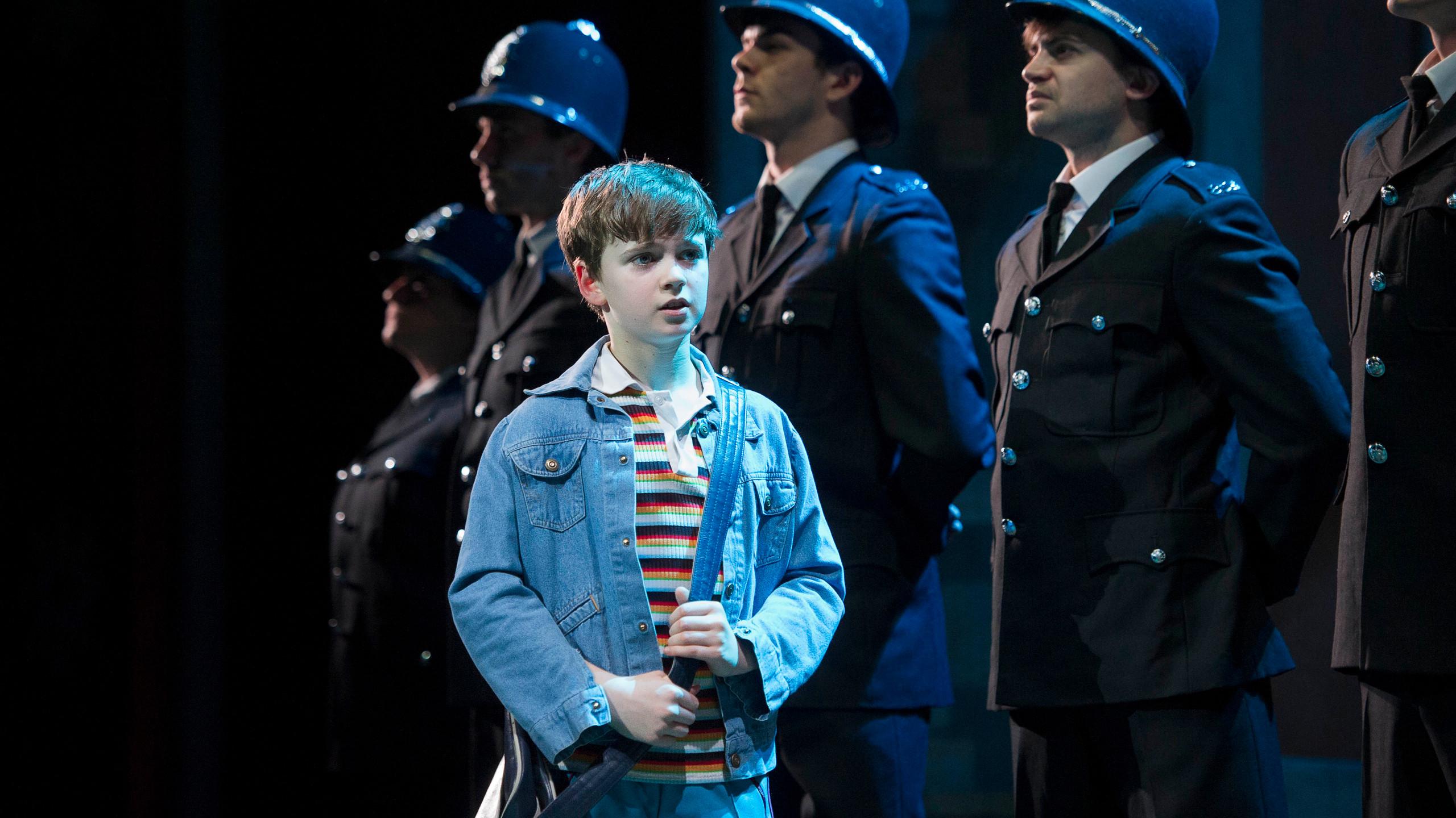 BILLY ELLIOT. Haydn May 'Billy Elliot'. Photo by Alastair Muir (2)