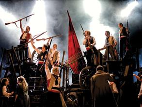 Les Miserables. Milton Keynes Theatre