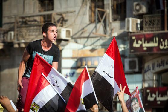 Manifestants - Place TAHRIR