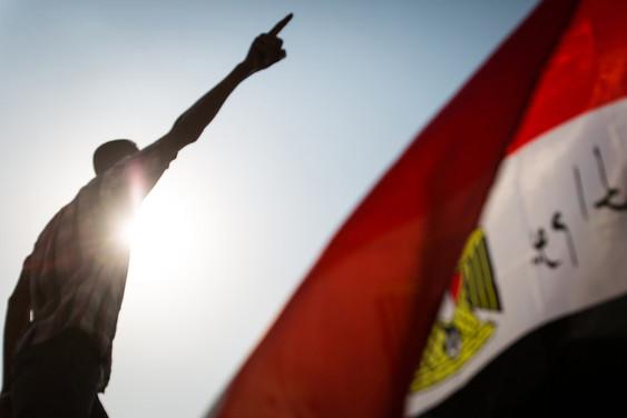 Manifestant - Place TAHRIR