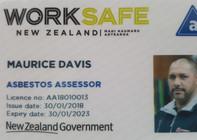 WorkSafe - Asbestos Assessor