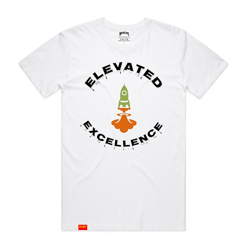Drippin Excellence Tee in White