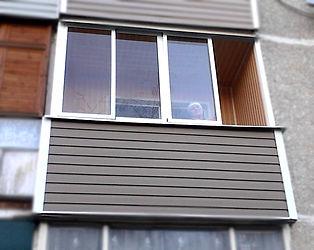 Балкон наружняя и внутренняя отделка