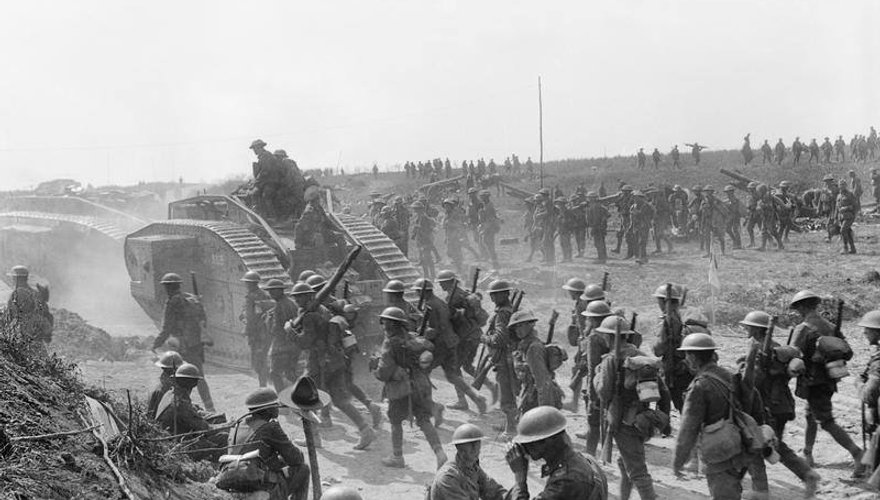 Tanks in the Great War