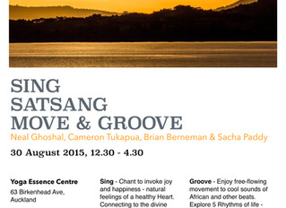 Sing, Satsang, Move and Groove